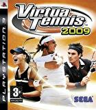 Packshot for Virtua Tennis 2009 on PlayStation 3