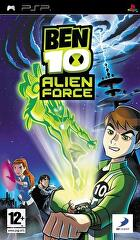 Packshot for Ben 10: Alien Force on PSP