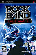 Packshot for Rock Band Unplugged on PSP