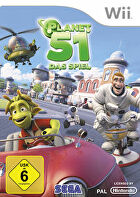 Packshot for Planet 51 on Wii