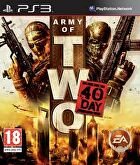 Packshot for Army of Two: The 40th Day on PlayStation 3