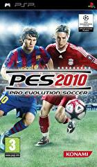Packshot for Pro Evolution Soccer 2010 on PSP