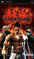 Packshot for Tekken 6 on PSP