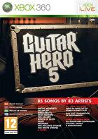 Packshot for Guitar Hero 5 on Xbox 360