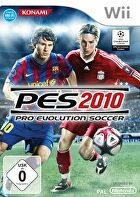 Packshot for Pro Evolution Soccer 2010 on Wii