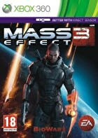 Packshot for Mass Effect 3 on Xbox 360