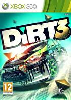 Packshot for DiRT 3 on Xbox 360