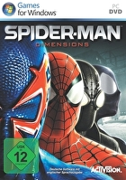 Packshot for Spider-Man Shattered Dimensions on PC