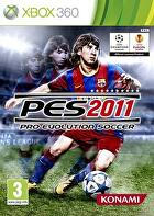 Packshot for PES 2011 on Xbox 360