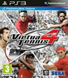 Packshot for Virtua Tennis 4 on PlayStation 3