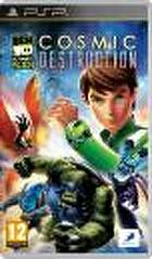 Packshot for Ben 10 Ultimate Alien Cosmic Destruction on PSP