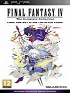 Packshot for Final Fantasy IV:Complete Collection on PSP