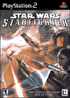 Packshot for Star Wars Starfighter on PlayStation 2