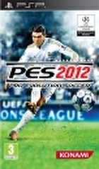 Packshot for PES 2012 on PSP