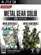 Packshot for Metal Gear Solid HD Collection on PlayStation 3