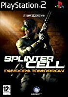 Packshot for Tom Clancy's Splinter Cell: Pandora Tomorrow on PlayStation 2