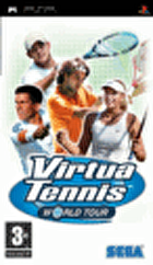 Packshot for Virtua Tennis World Tour on PSP