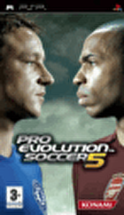 Packshot for Pro Evolution Soccer 5 on PSP
