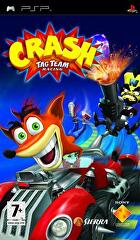 Packshot for Crash Tag Team Racing on PSP