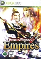 Packshot for Dynasty Warriors 5 Empires on Xbox 360