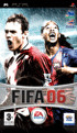 Packshot for FIFA 06 on PSP