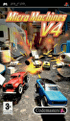 Packshot for Micro Machines v4 on PSP