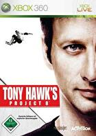 Packshot for Tony Hawk's Project 8 on Xbox 360