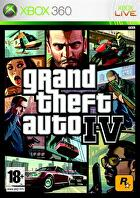 Packshot for Grand Theft Auto IV on Xbox 360