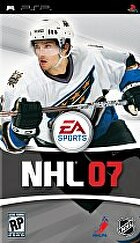 Packshot for NHL '07 on PSP