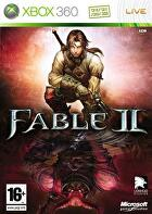 Packshot for Fable II on Xbox 360