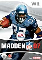 Packshot for Madden NFL 07 on Wii