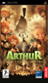 Packshot for Arthur and the Invisibles on PSP