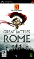 Packshot for The History Channel: Great Battles of Rome on PSP