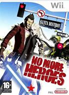 Packshot for No More Heroes on Wii