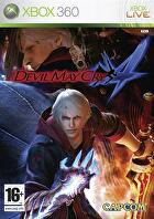 Packshot for Devil May Cry 4 on Xbox 360