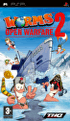 Packshot for Worms Open Warfare 2 on PSP, DS