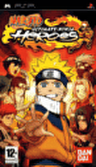Packshot for Naruto: Ultimate Ninja Heroes on PSP