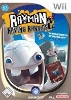 Packshot for Rayman Raving Rabbids 2 on Wii