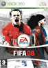 Packshot for FIFA 08 on Xbox 360