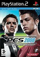 Packshot for Pro Evolution Soccer 2008 on PlayStation 2