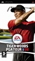 Packshot for Tiger Woods PGA Tour 08 on PSP