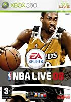 Packshot for NBA Live 08 on Xbox 360