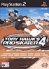 Packshot for Tony Hawk's Pro Skater 4 on PlayStation 2