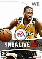 Packshot for NBA Live 08 on Wii