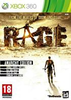 Packshot for Rage on Xbox 360