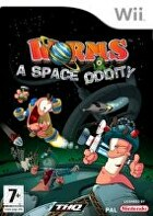Packshot for Worms: A Space Oddity on Wii