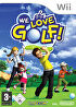 Packshot for We Love Golf! on Wii