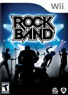 Packshot for Rock Band on Wii