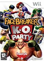 Packshot for Facebreaker KO Party on Wii