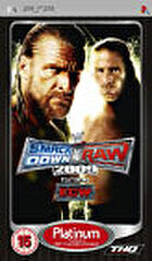 Packshot for WWE SmackDown vs. Raw 2009 on PSP